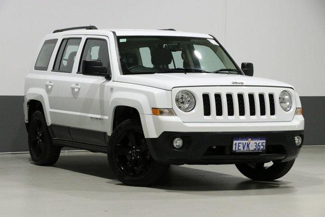 Used Jeep Patriot MK MY15 Sport (4x2), 2015 Jeep Patriot MK MY15 Sport (4x2) White 6 Speed Automatic Wagon