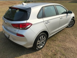 2018 Hyundai i30 PD MY18 Active D-CT Platinum Silver 7 Speed Sports Automatic Dual Clutch Hatchback