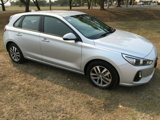 2018 Hyundai i30 PD MY18 Active Platinum Silver 6 Speed Sports Automatic Hatchback