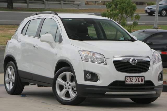 Used Holden Trax TJ MY16 LTZ, 2016 Holden Trax TJ MY16 LTZ White 6 Speed Automatic Wagon