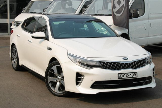 Used Kia Optima JF MY16 GT, 2015 Kia Optima JF MY16 GT White 6 Speed Sports Automatic Sedan