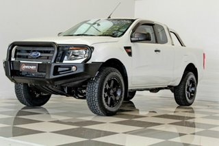 2014 Ford Ranger PX XL 3.2 (4x4) White 6 Speed Manual Super Cab Chassis