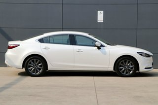 2019 Mazda 6 GL1033 Sport SKYACTIV-Drive White Pearl 6 Speed Sports Automatic Sedan