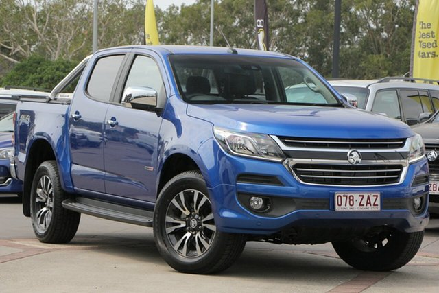 Used Holden Colorado RG MY20 LTZ Pickup Crew Cab, 2019 Holden Colorado RG MY20 LTZ Pickup Crew Cab Power Blue 6 Speed Sports Automatic Utility