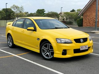 2011 Holden Commodore VE II MY12 SV6 Yellow 6 Speed Manual Sedan.