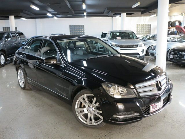 Used Mercedes-Benz C-Class W204 MY13 C250 CDI BlueEFFICIENCY 7G-Tronic + Avantgarde, 2012 Mercedes-Benz C-Class W204 MY13 C250 CDI BlueEFFICIENCY 7G-Tronic + Avantgarde Black 7 Speed