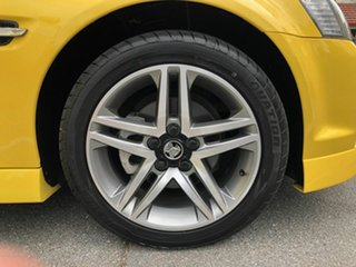 2011 Holden Commodore VE II MY12 SV6 Yellow 6 Speed Manual Sedan