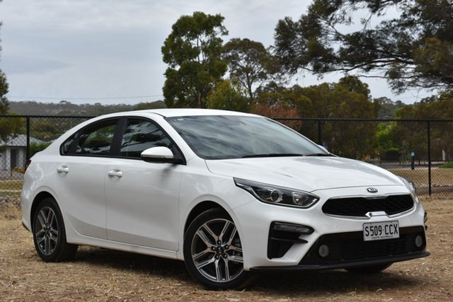 Used Kia Cerato YD MY18 Sport, 2018 Kia Cerato YD MY18 Sport White 6 Speed Sports Automatic Sedan