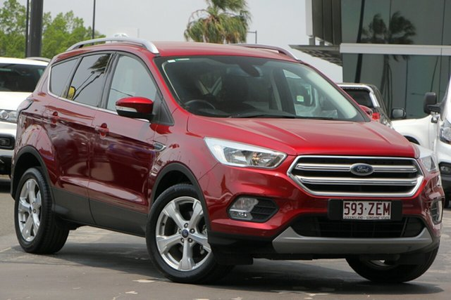Used Ford Escape ZG 2018.00MY Trend 2WD, 2018 Ford Escape ZG 2018.00MY Trend 2WD Red 6 Speed Sports Automatic Wagon