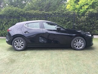 2019 Mazda 3 BP2H7A G20 SKYACTIV-Drive Pure Jet Black 6 Speed Sports Automatic Hatchback.