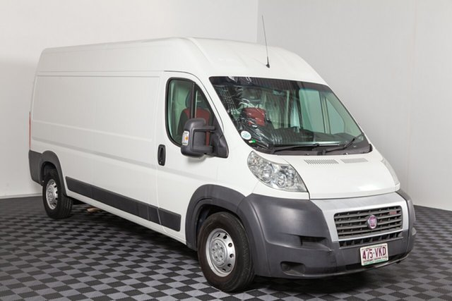 Used Fiat Ducato Series II MY12 Mid Roof LWB Comfort-matic, 2014 Fiat Ducato Series II MY12 Mid Roof LWB Comfort-matic White 6 speed Automatic Van