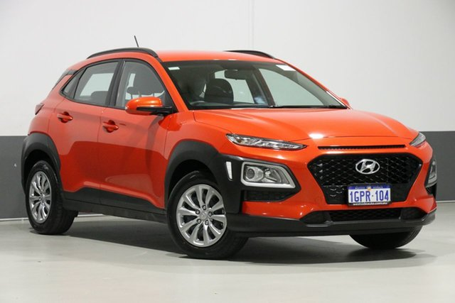 Used Hyundai Kona OS.2 MY19 GO (FWD), 2018 Hyundai Kona OS.2 MY19 GO (FWD) Orange 6 Speed Automatic Wagon