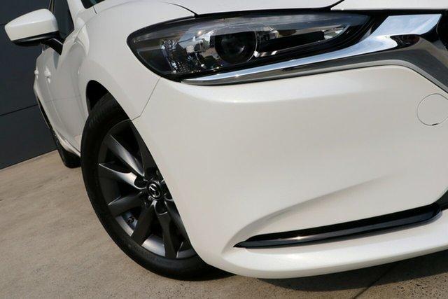 New Mazda 6 GL1033 Sport SKYACTIV-Drive, 2019 Mazda 6 GL1033 Sport SKYACTIV-Drive White Pearl 6 Speed Sports Automatic Sedan
