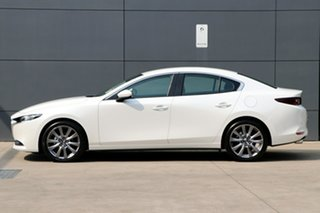 2020 Mazda 3 BP2S7A G20 SKYACTIV-Drive Evolve Snowflake White Pearl 6 Speed Sports Automatic Sedan