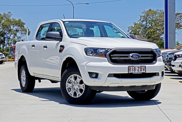Used Ford Ranger PX MkIII 2019.00MY XLS Pick-up Double Cab, 2019 Ford Ranger PX MkIII 2019.00MY XLS Pick-up Double Cab Arctic White 6 Speed Sports Automatic
