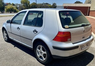 2000 Volkswagen Golf 4th Gen GL Silver 5 Speed Manual Hatchback