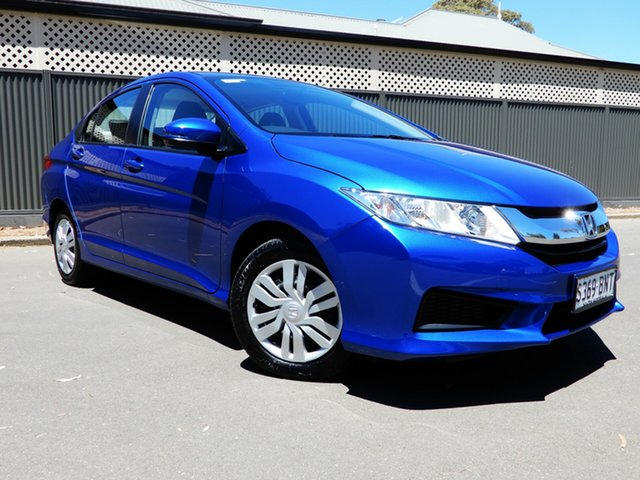 Used Honda City GM MY16 VTi, 2016 Honda City GM MY16 VTi Blue 1 Speed Constant Variable Sedan