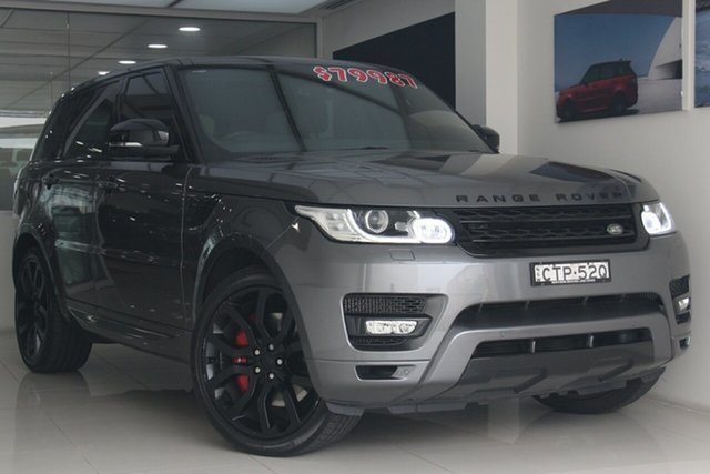 Used Land Rover Range Rover Sport L494 MY14.5 SDV8 HSE Dynamic, 2014 Land Rover Range Rover Sport L494 MY14.5 SDV8 HSE Dynamic Grey 8 Speed Sports Automatic Wagon