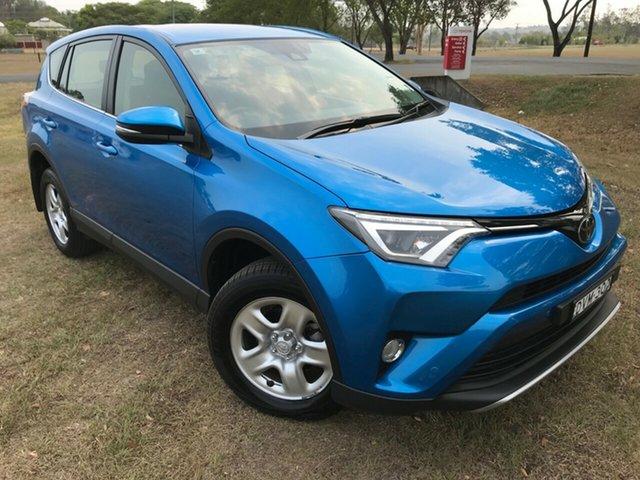 Used Toyota RAV4 ZSA42R GX 2WD, 2017 Toyota RAV4 ZSA42R GX 2WD Blue Gem 7 Speed Constant Variable Wagon