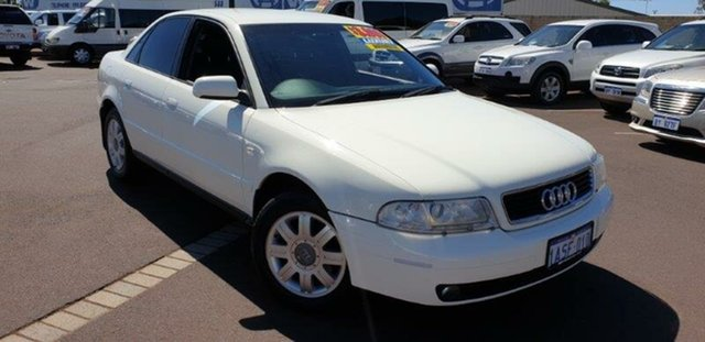 Used Audi A4 B5 MY99 , 1999 Audi A4 B5 MY99 White 4 Speed Automatic Sedan