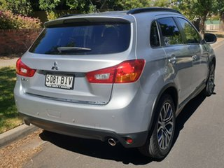 2015 Mitsubishi ASX XB MY15 LS 2WD Silver 6 Speed Constant Variable Wagon.