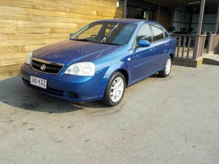 2007 Holden Viva JF MY08 Blue 5 Speed Manual Sedan