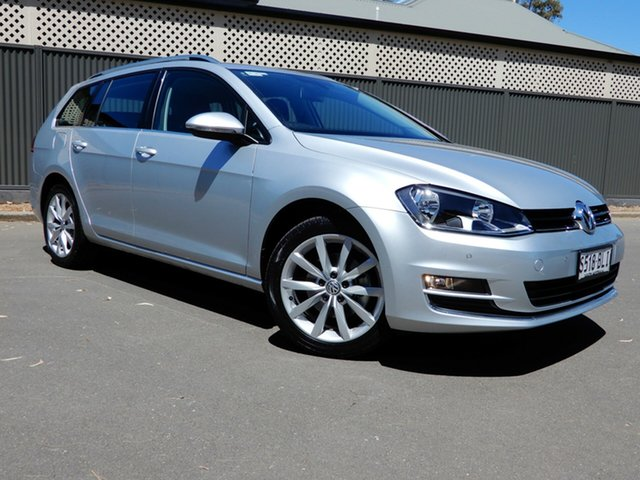 Used Volkswagen Golf VII MY16 110TSI DSG Highline, 2016 Volkswagen Golf VII MY16 110TSI DSG Highline Silver 7 Speed Sports Automatic Dual Clutch Wagon