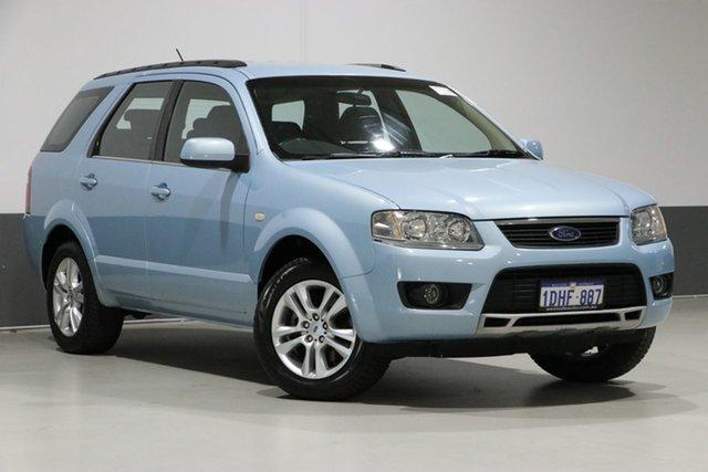 Used Ford Territory SY MkII TS (RWD), 2010 Ford Territory SY MkII TS (RWD) Blue 4 Speed Auto Seq Sportshift Wagon