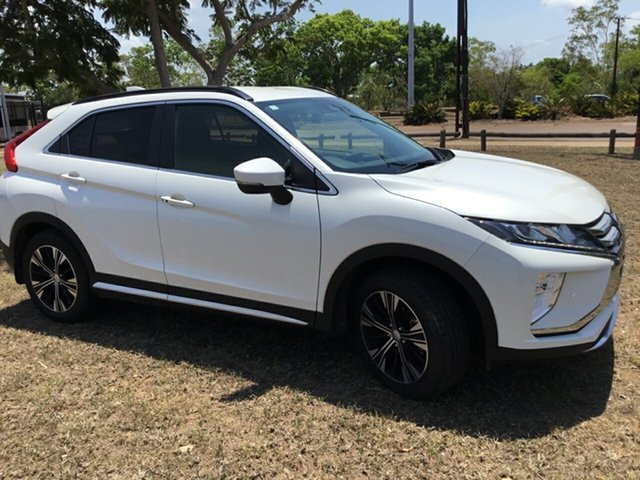 Used Mitsubishi Eclipse Cross YA LS (2WD), 2018 Mitsubishi Eclipse Cross YA LS (2WD) White Continuous Variable Wagon
