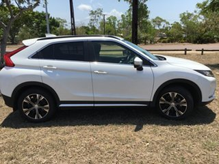 2018 Mitsubishi Eclipse Cross YA LS (2WD) White Continuous Variable Wagon.