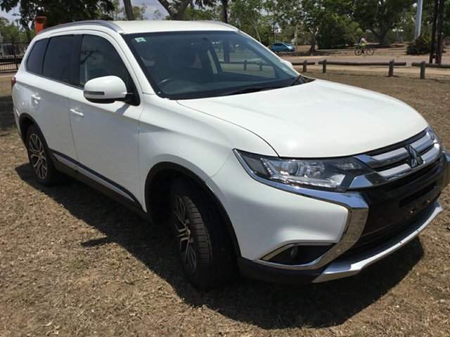 Used Mitsubishi Outlander ZK MY17 LS (4x4), 2017 Mitsubishi Outlander ZK MY17 LS (4x4) White Continuous Variable Wagon