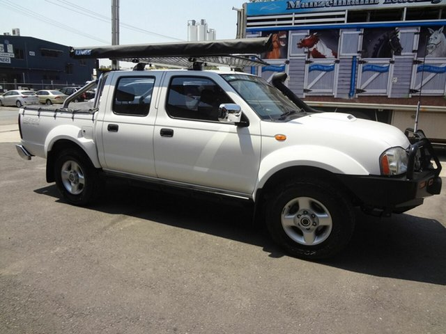 Used Nissan Navara D22 MY08 ST-R (4x4), 2009 Nissan Navara D22 MY08 ST-R (4x4) White 5 Speed Manual Dual Cab Pick-up