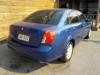 2007 Holden Viva JF MY08 Blue 5 Speed Manual Sedan.
