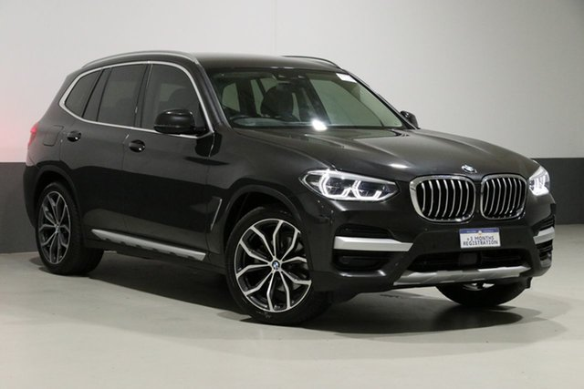 Used BMW X3 G01 MY18.5 xDrive30I, 2018 BMW X3 G01 MY18.5 xDrive30I Sophisto Grey 8 Speed Automatic Wagon