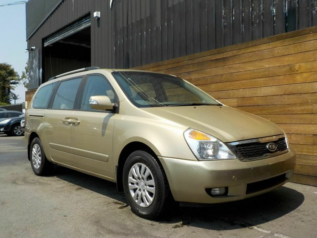Used Kia Grand Carnival VQ MY12 S, 2011 Kia Grand Carnival VQ MY12 S Beige 6 Speed Sports Automatic Wagon