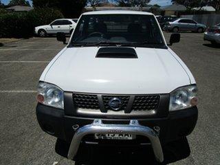 2008 Nissan Navara D22 MY08 DX (4x2) 5 Speed Manual Cab Chassis.