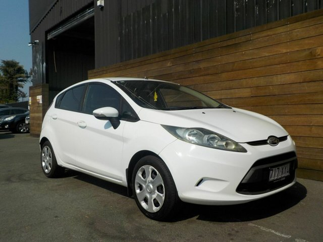 Used Ford Fiesta WS CL, 2010 Ford Fiesta WS CL White 4 Speed Automatic Hatchback