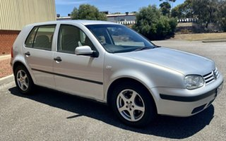 2000 Volkswagen Golf 4th Gen GL Silver 5 Speed Manual Hatchback.