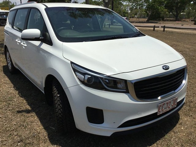 Used Kia Carnival YP MY17 S, 2017 Kia Carnival YP MY17 S White 6 Speed Automatic Wagon