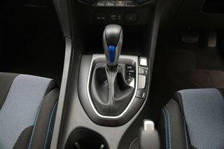 2019 Hyundai Veloster JS MY20 Coupe Dark Knight 6 Speed Automatic Hatchback