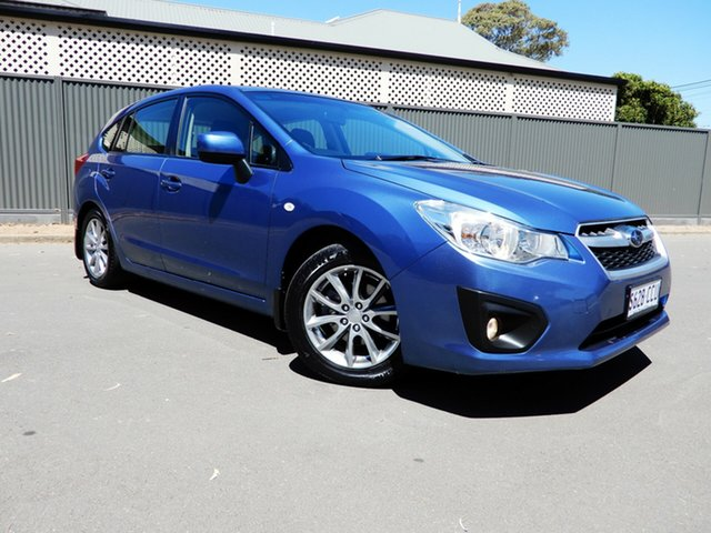 Used Subaru Impreza G4 MY14 2.0i Lineartronic AWD Luxury, 2014 Subaru Impreza G4 MY14 2.0i Lineartronic AWD Luxury Blue 6 Speed Constant Variable Hatchback