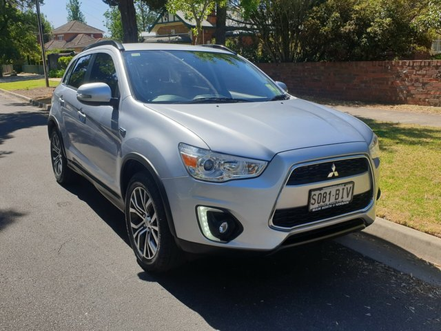 Used Mitsubishi ASX XB MY15 LS 2WD, 2015 Mitsubishi ASX XB MY15 LS 2WD Silver 6 Speed Constant Variable Wagon
