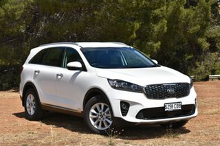 2018 Kia Sorento UM MY19 Si AWD Clear White 8 Speed Sports Automatic Wagon.