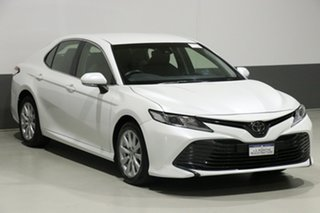 2018 Toyota Camry ASV70R Ascent Pearl White 6 Speed Automatic Sedan