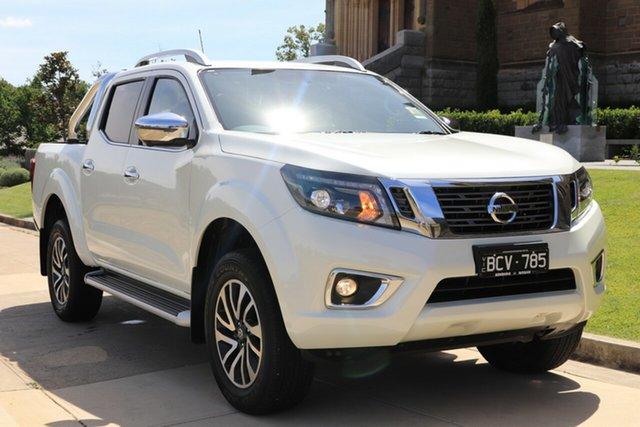 Demo Nissan Navara D23 S4 MY19 ST-X, 2019 Nissan Navara D23 S4 MY19 ST-X White Diamond 7 Speed Sports Automatic Utility