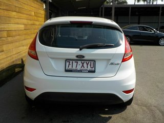 2010 Ford Fiesta WS CL White 4 Speed Automatic Hatchback