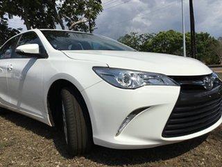 2017 Toyota Camry ASV50R MY16 Altise White 6 Speed Automatic Sedan.