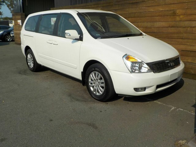 Used Kia Grand Carnival VQ MY14 S, 2013 Kia Grand Carnival VQ MY14 S White 6 Speed Sports Automatic Wagon