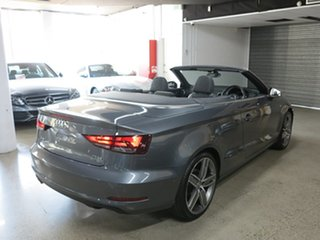 2014 Audi A3 8V MY15 Ambition S Tronic Grey 7 Speed Sports Automatic Dual Clutch Cabriolet