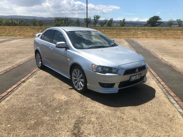 Used Mitsubishi Lancer CJ MY09 VR-X, 2008 Mitsubishi Lancer CJ MY09 VR-X Silver 5 Speed Manual Sedan